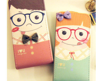 Couple cell phone case