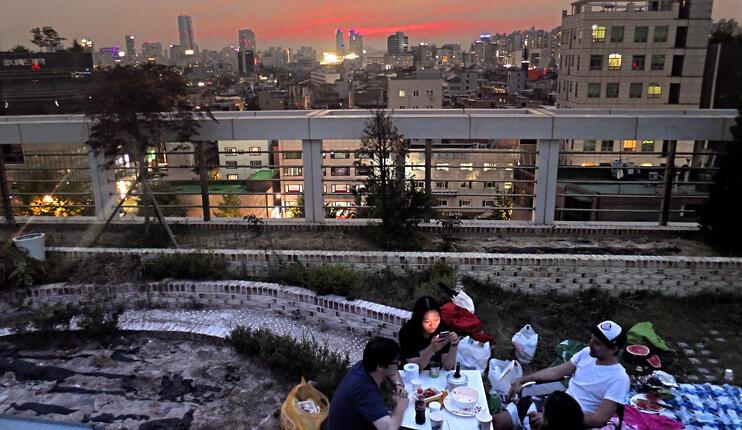 Rooftop Seoul