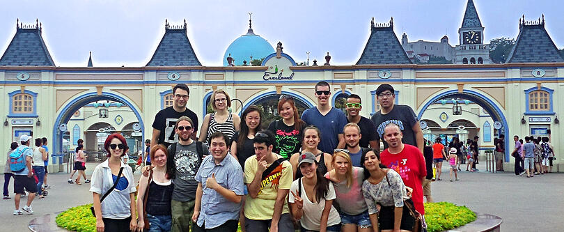 Group at Everland
