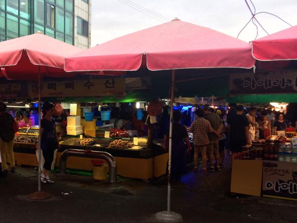 soraepogu fish market incheon
