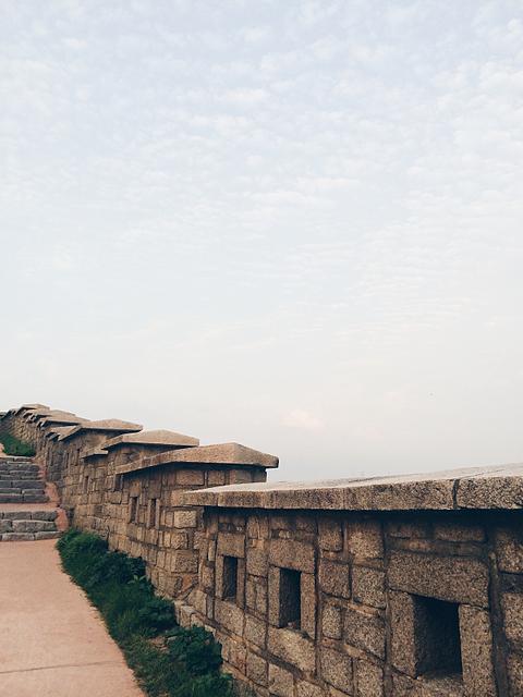 seoul city wall naksan korea