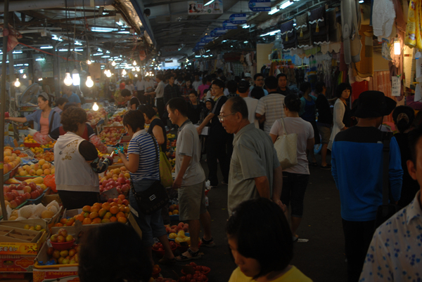 Shopping at the 5 day market!