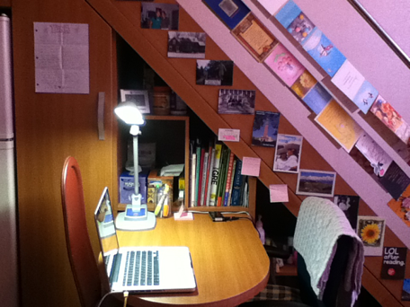 How I decorated my workspace