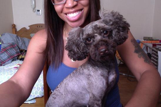 Adopting a Pet in Korea - Me and Choco