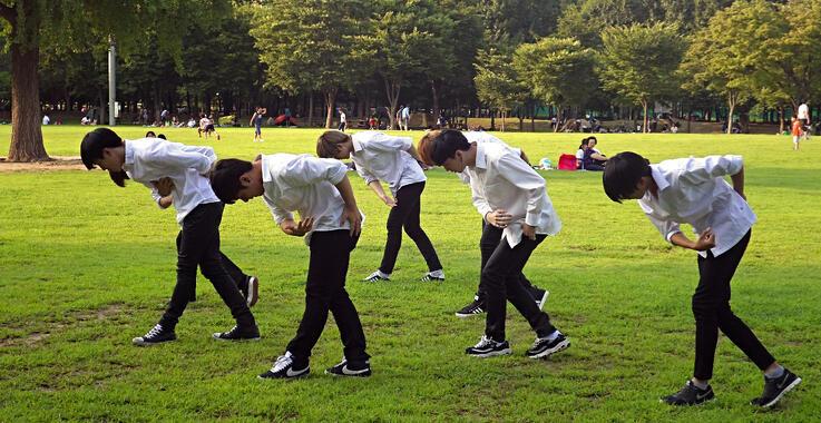 kpop practice