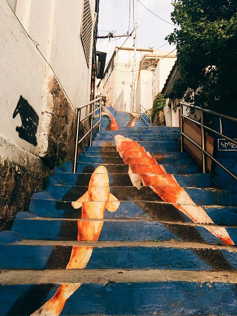 ihwa mural village seoul