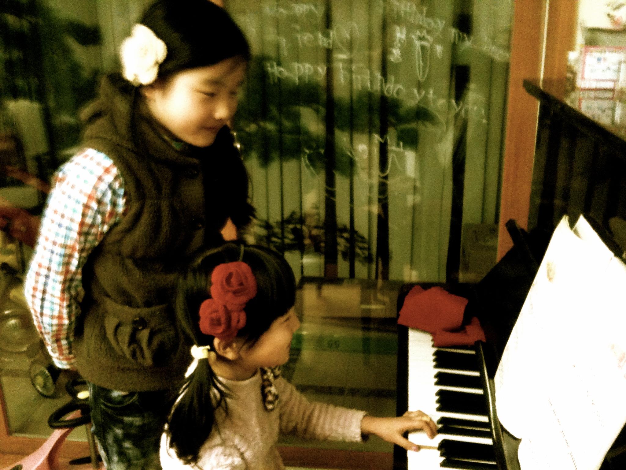 Playing Piano in Korea