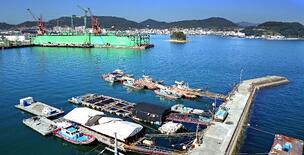 Tongyeong harbor