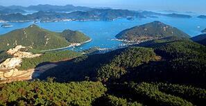 View of Tongyeong