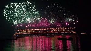 fireworks festibal, busam, teach and travel, teach aclipse