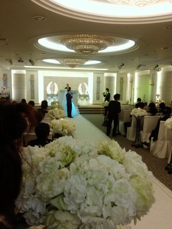 wedding ceremony in Korea