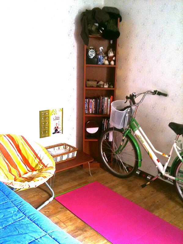 gym in my korean apartment