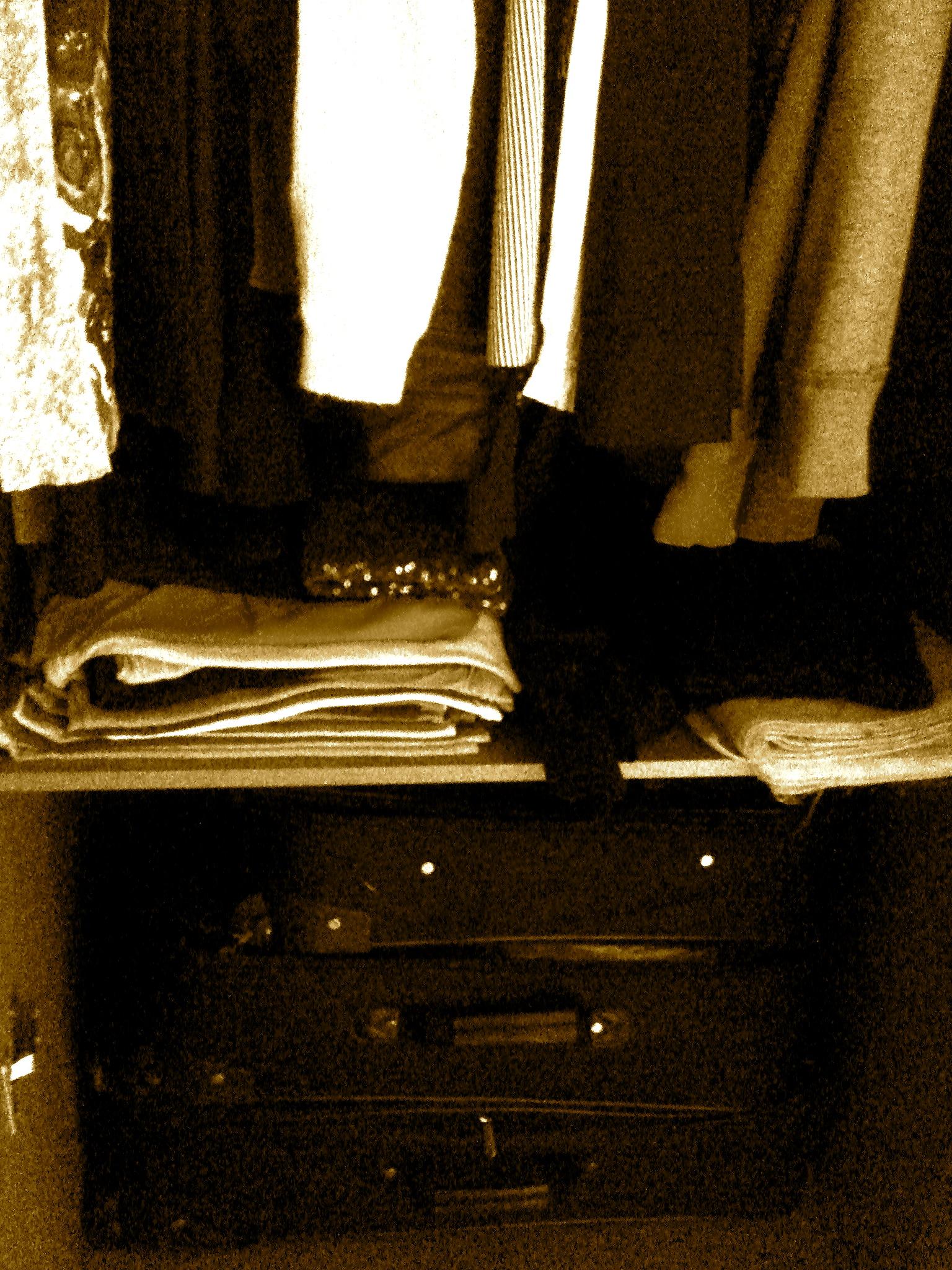 closet in my korean apartment