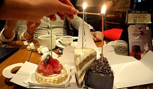 Birthday in Korea