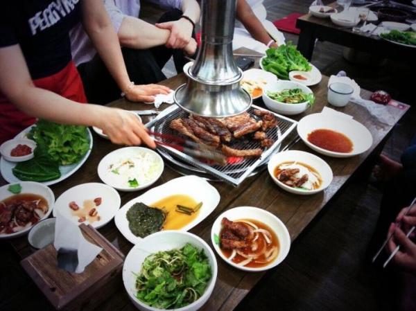Korean BBQ, Teach English, Teach Aclipse, Teach english in south korea