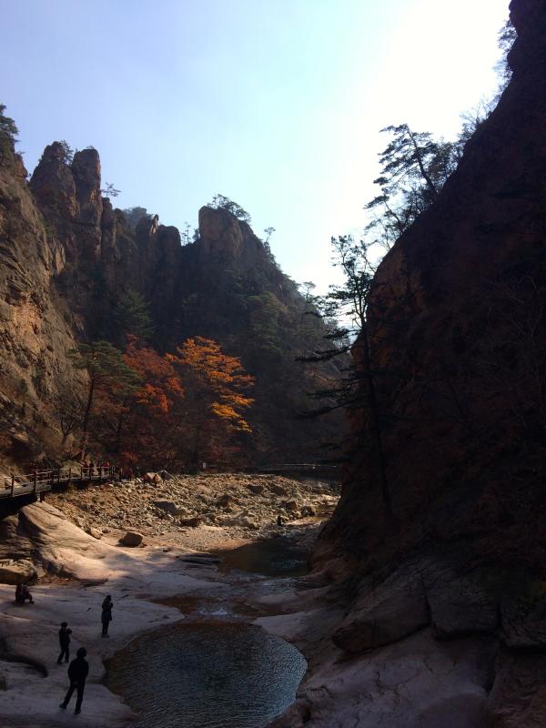 seoraksan national park korea