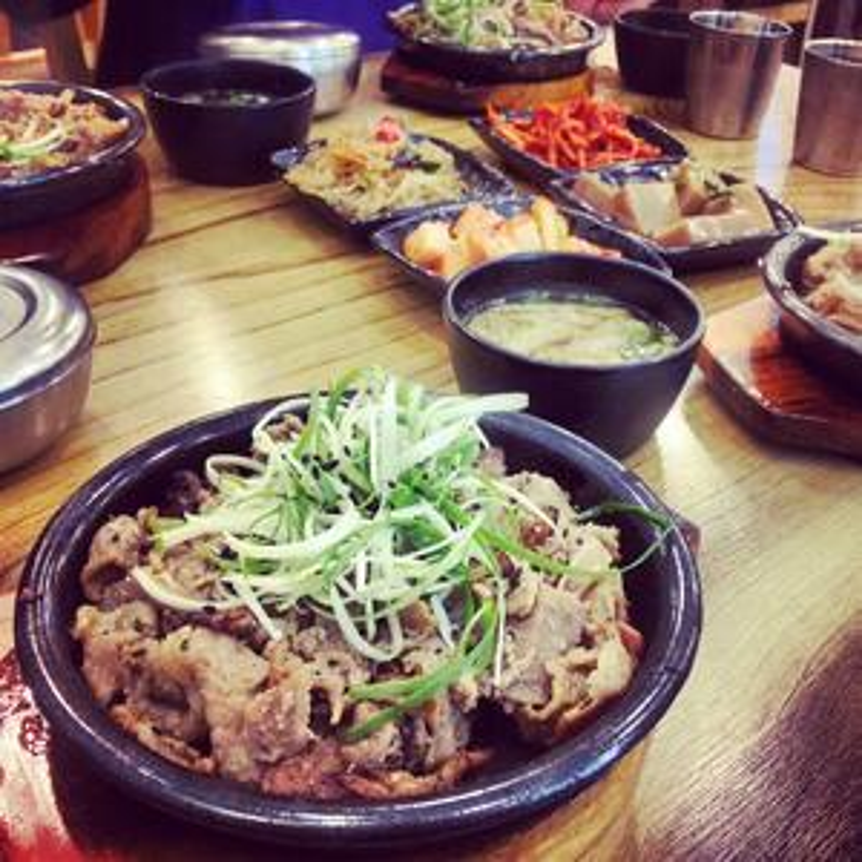 eating healthy in Korea