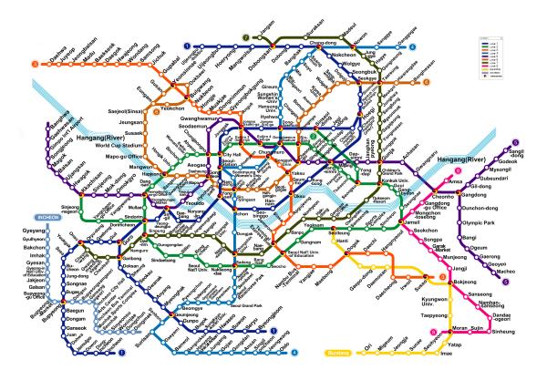 Seoul Subway Map resized 600