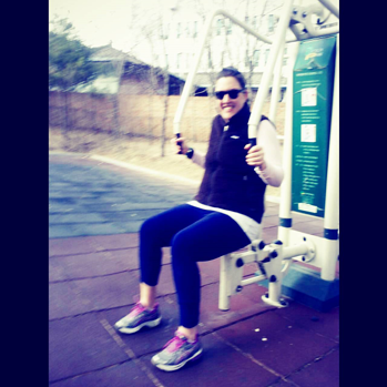 park gym in Korea