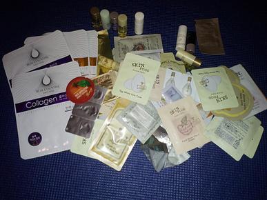 free samples in Korea