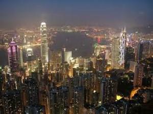 English Teacher in Korea visits Victoria Peak in Hong Kong