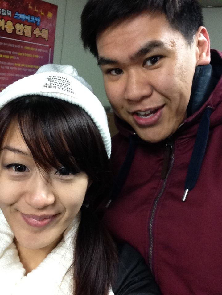 make friends while teaching English in Korea