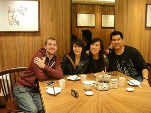 make friends while teaching English in Korea