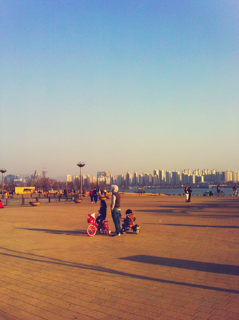 family on the Han river