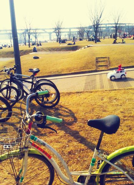 bike rental on the Han river