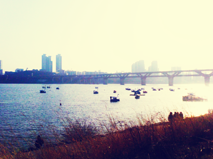 boats on the Han river