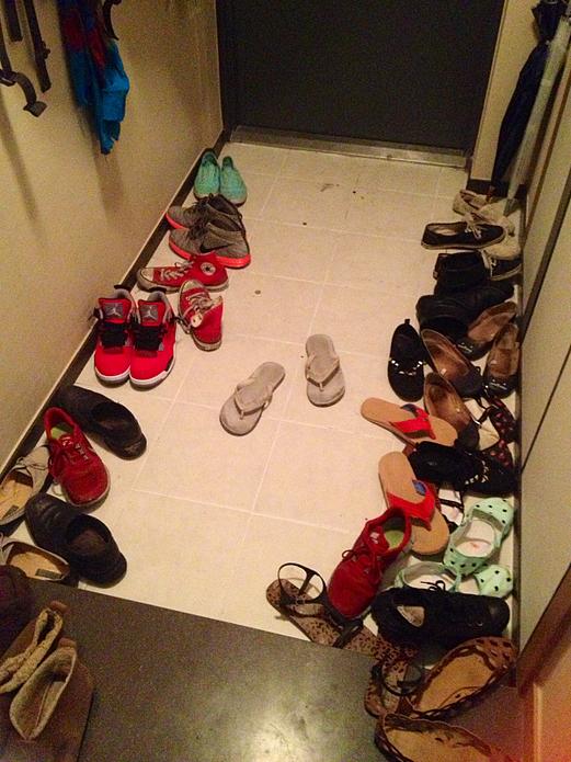 korean entryway shoes