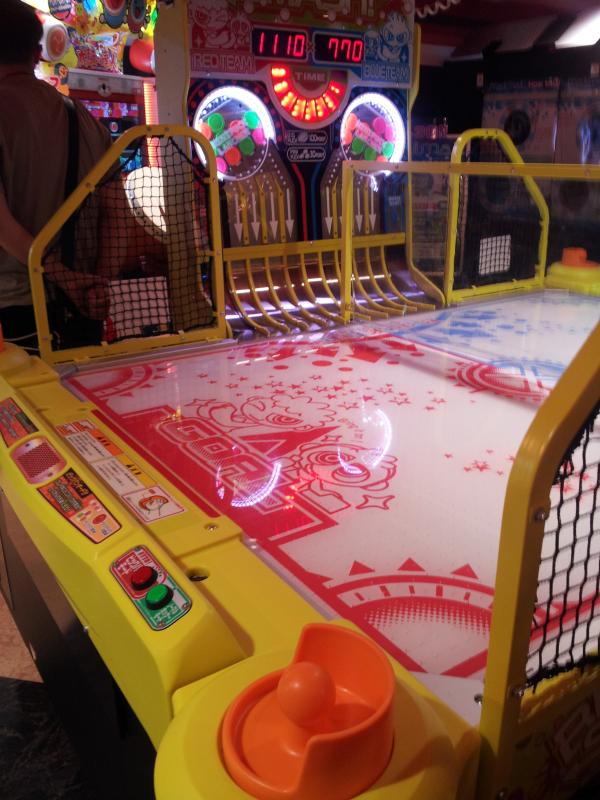 Coolest Air Hockey table in the world