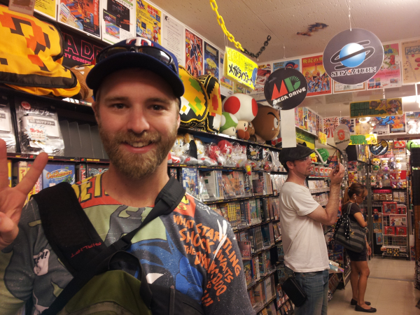 Awesome retro video game store