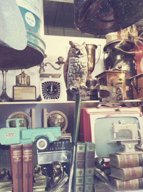 vintage finds seoul flea market