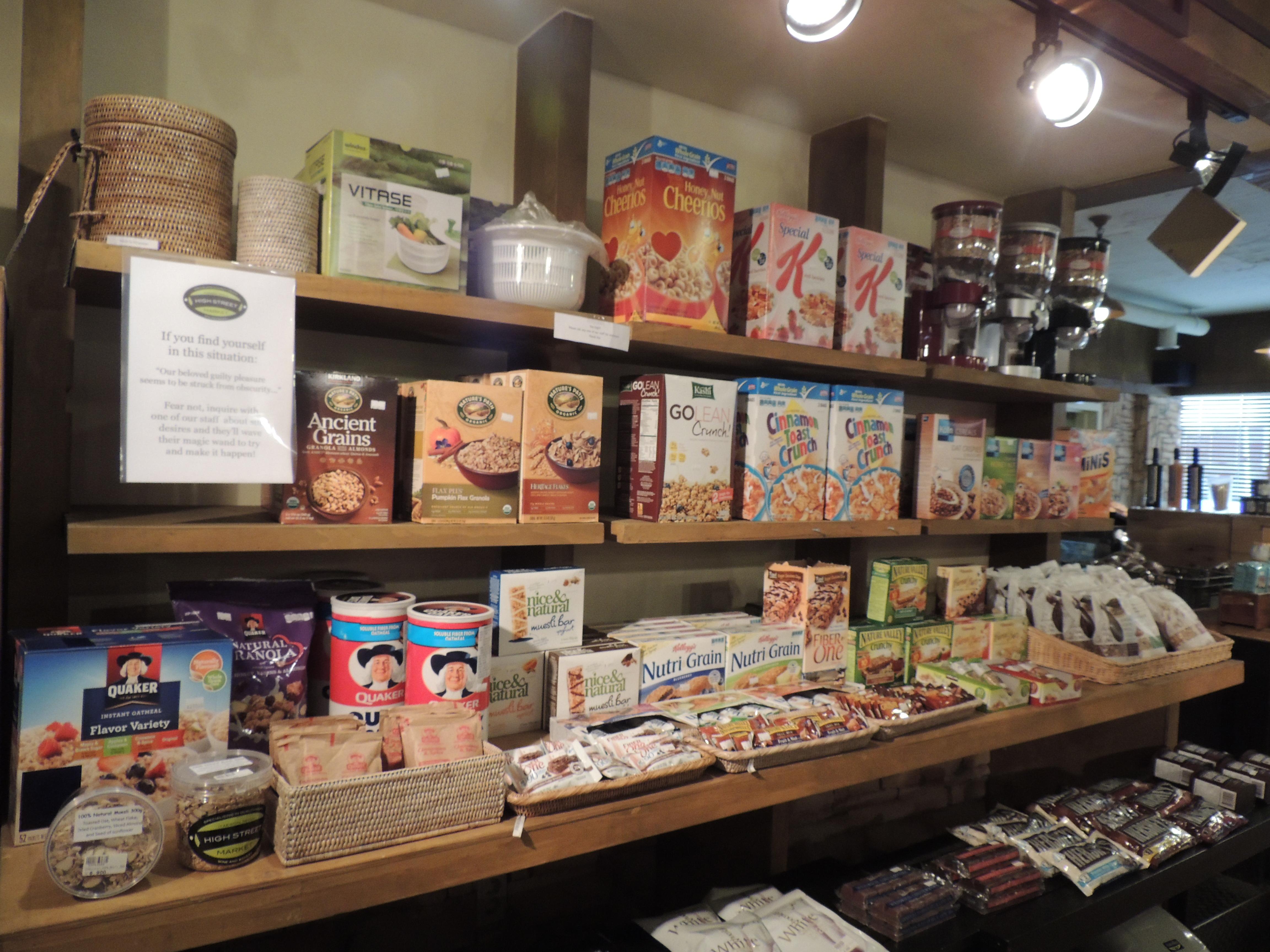 American groceries in Korea