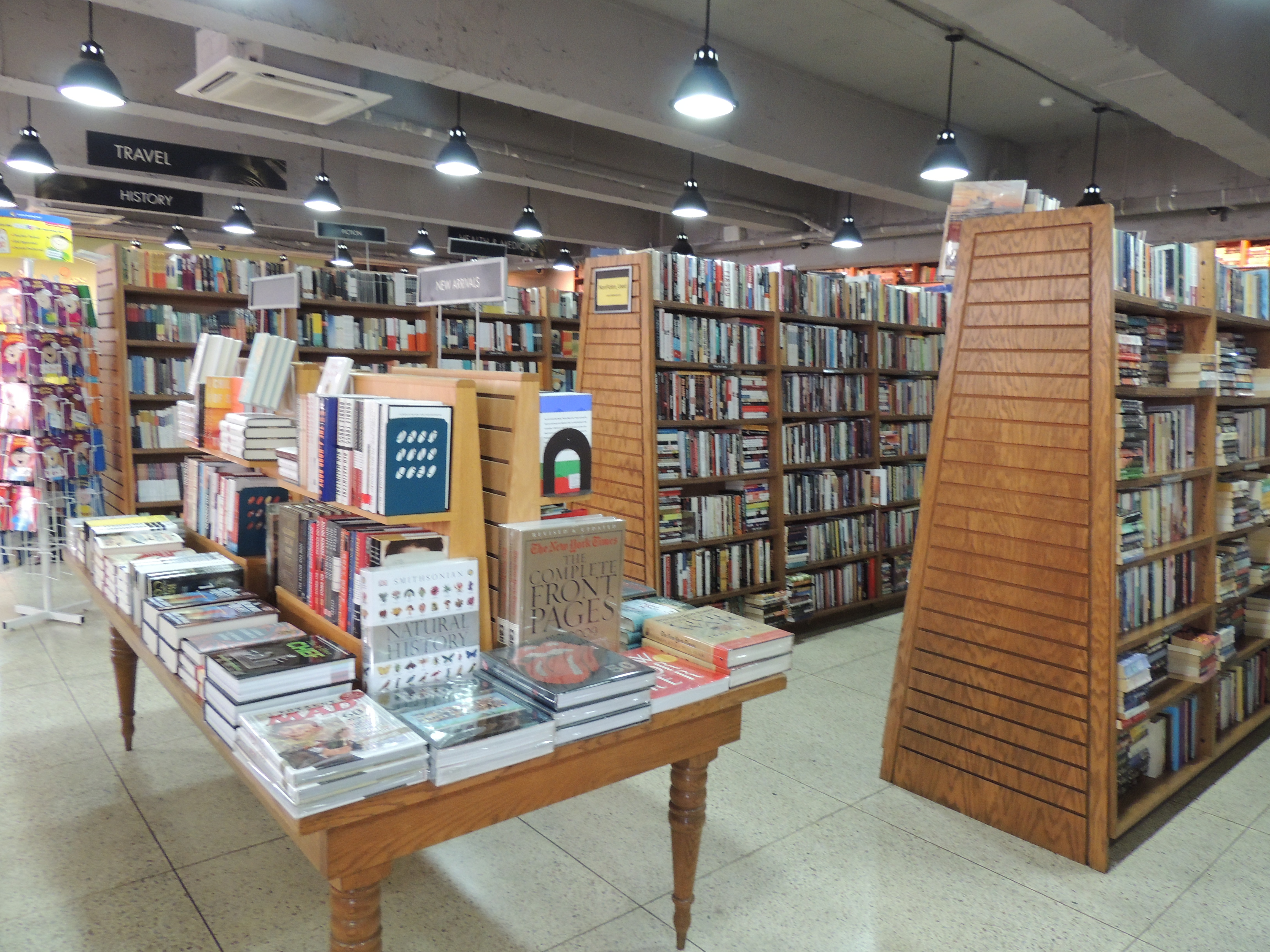 bookstore in Itaewon Seoul