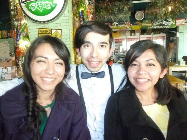 My sisters and I in Korea