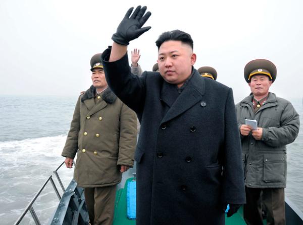Kim Jung Un all over the news
