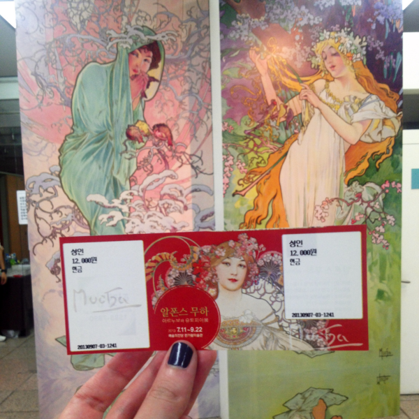 studio ghibli alphonse mucha seoul arts center exhibit