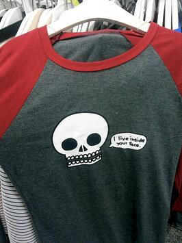 funny shirt in Korea