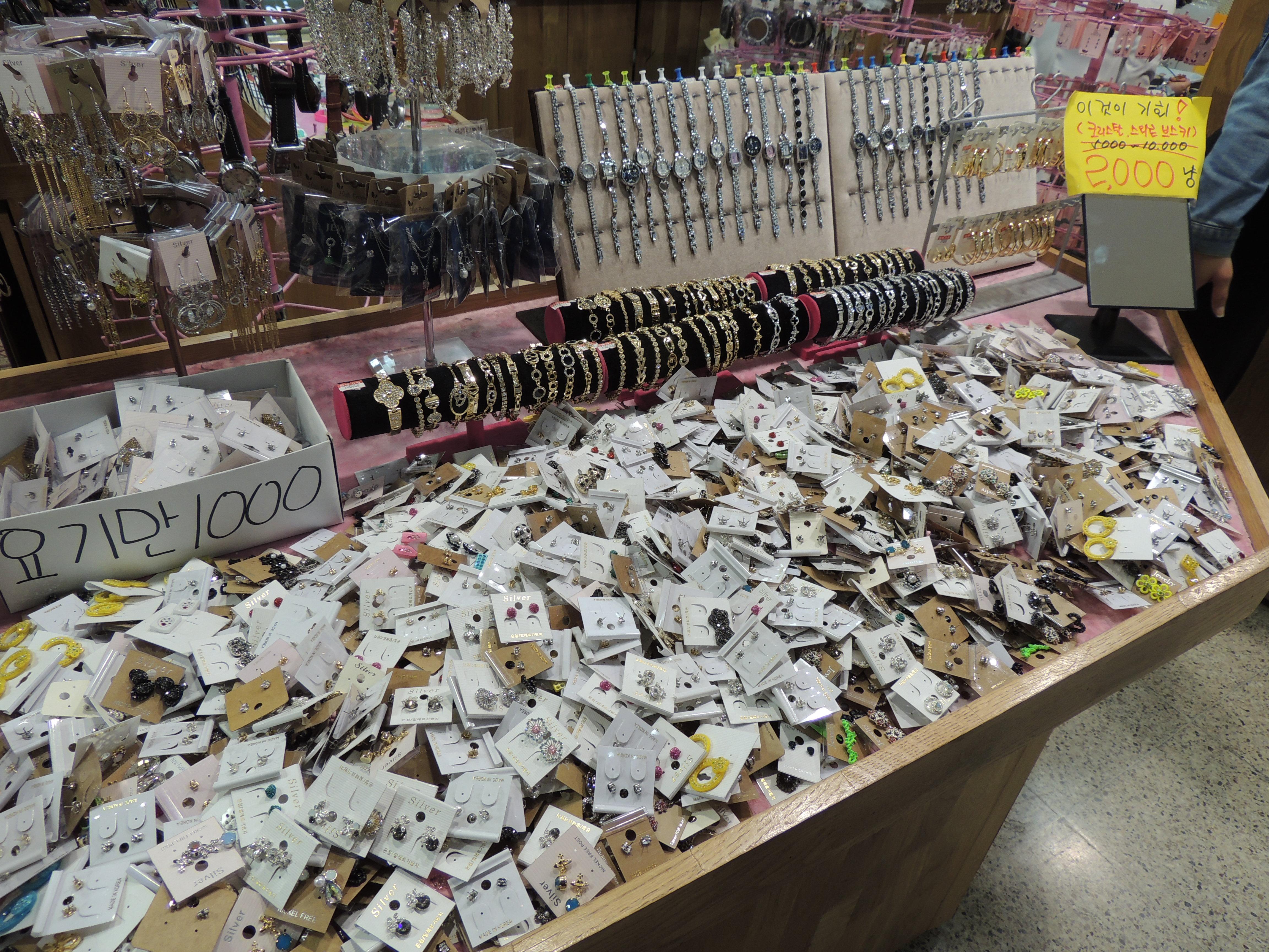 accessories in Korea