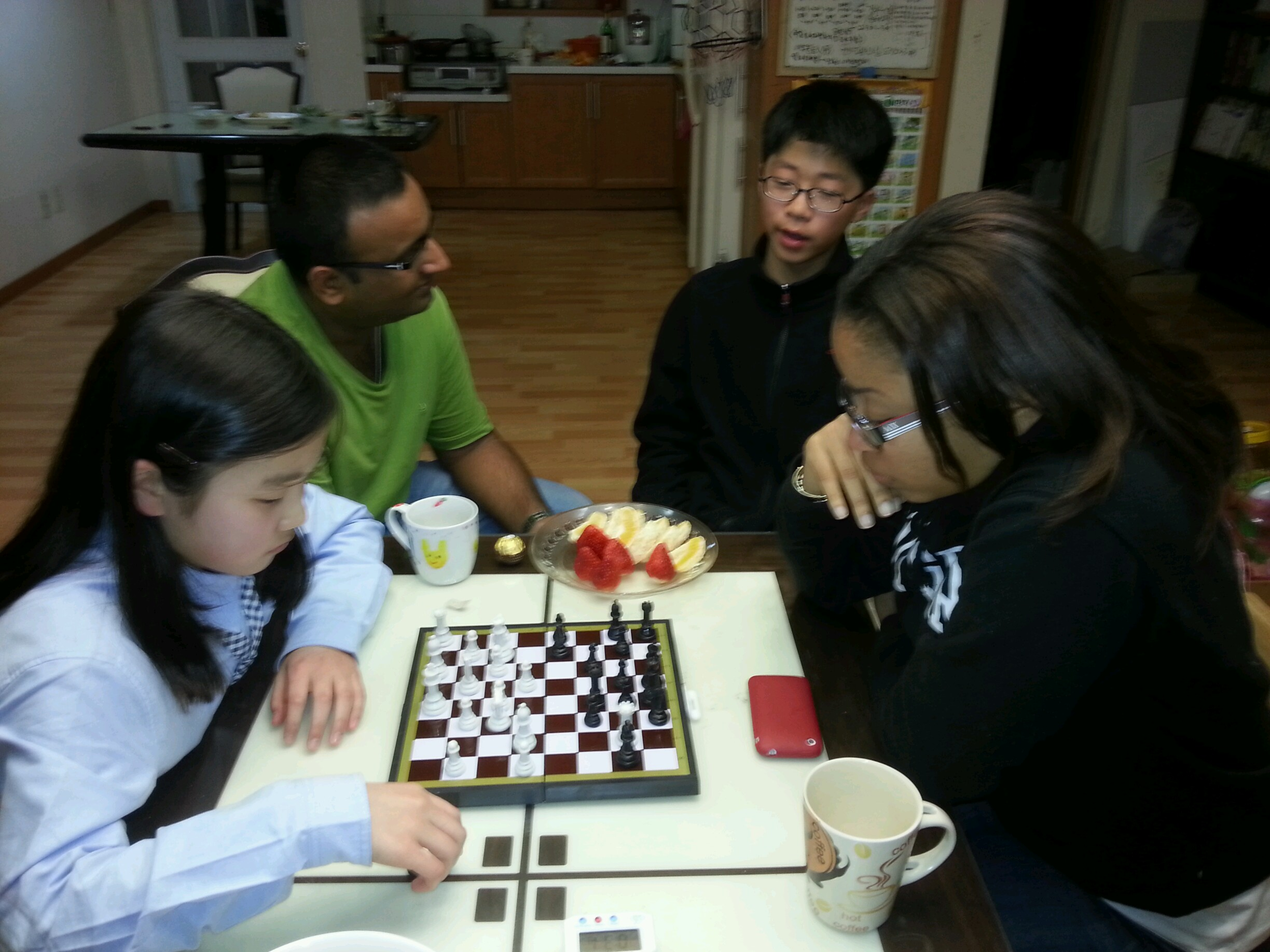 playing games with my Korean students