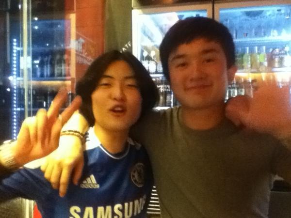 Korean friends!