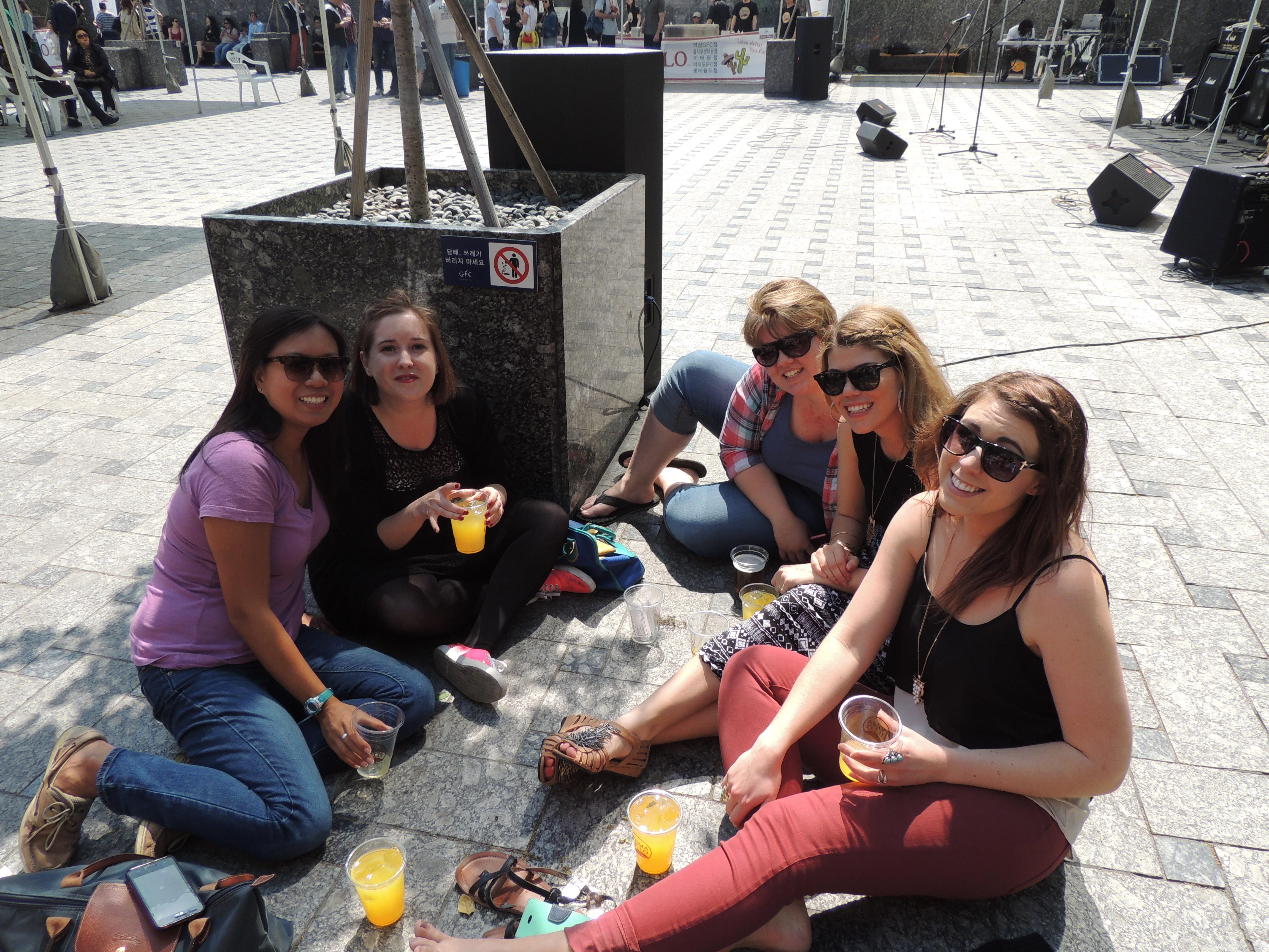 friends on cinco de mayo