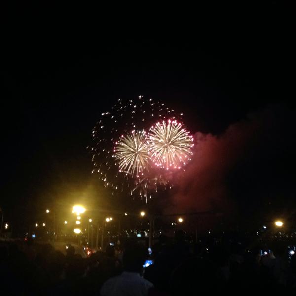 seoul international fireworks festival 2013