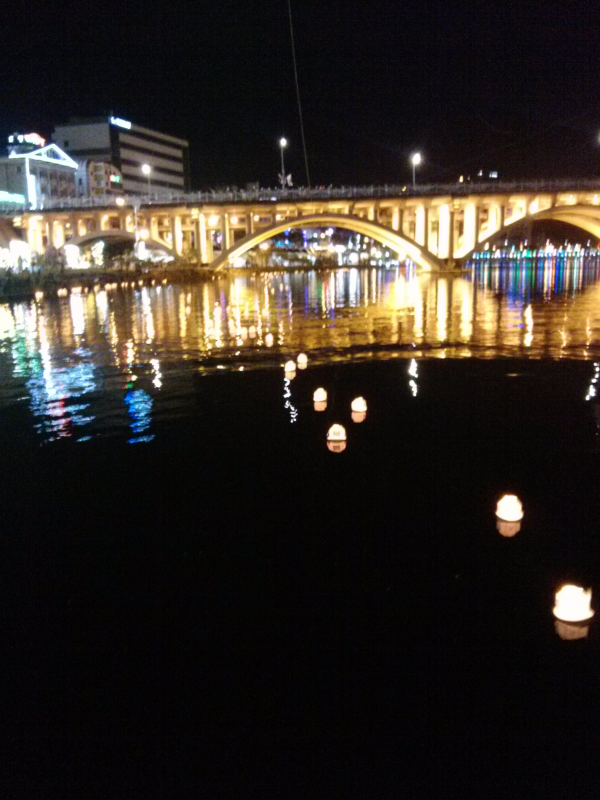 #jinju #festival #korea #lights