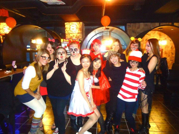 expat halloween korea