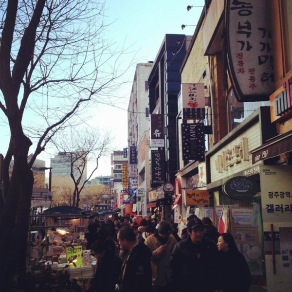 holiday shopping in korea