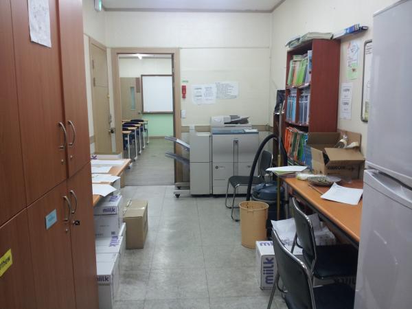 Copy room