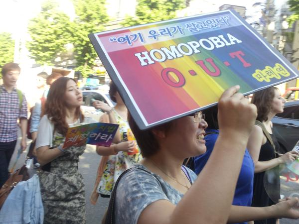 Homophobia out
